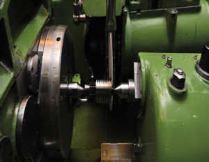 Thread Grinding Section